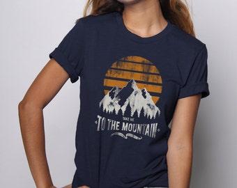 Camping Shirt, Happy Camper Shirt, Mountains Shirt, Vintage Tshirt, Graphic Tee, Retro Shirt, Colorado Shirt, Happy Camper