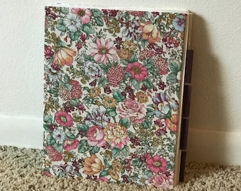 Handmade Coptic Stitch Journal with Original Pop Up Artwork