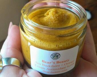 ORANGE CREAM | Sea Buckthorn Face Scrub | All Skin Types | Face Scrub | Face Polish | Exfoliate | Organic | Polish | Sea Buckthorn Oil