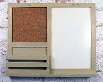 Dry Erase, Cork Board, Kitchen Organizer, Bulletin Board, Mail Holder,  Office