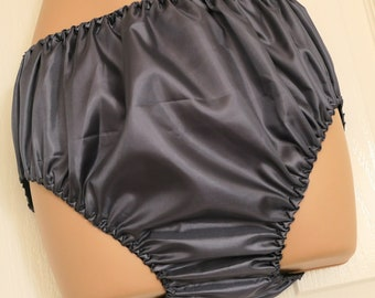 SSX 11 Soft silky satin panties, no lace for unobtrusive everyday wear, Sissy Lingerie, SS Satins