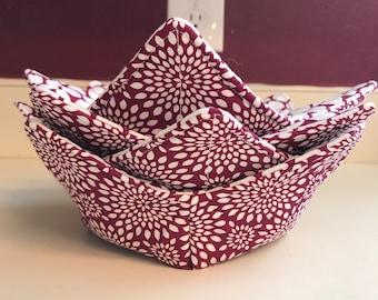 Bowl Cozy, Microwave Bowl Cozy, Soup Bowl Cozy, Ice Cream Cozy, Microwavable Bowl Cozy, Housewarming Gift, Eco Friendly Gift, Kitchen Decor