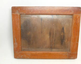 Antique Pressing Frame - Antique Specimen Frame - Specimen Pressing Frame - Display Frame