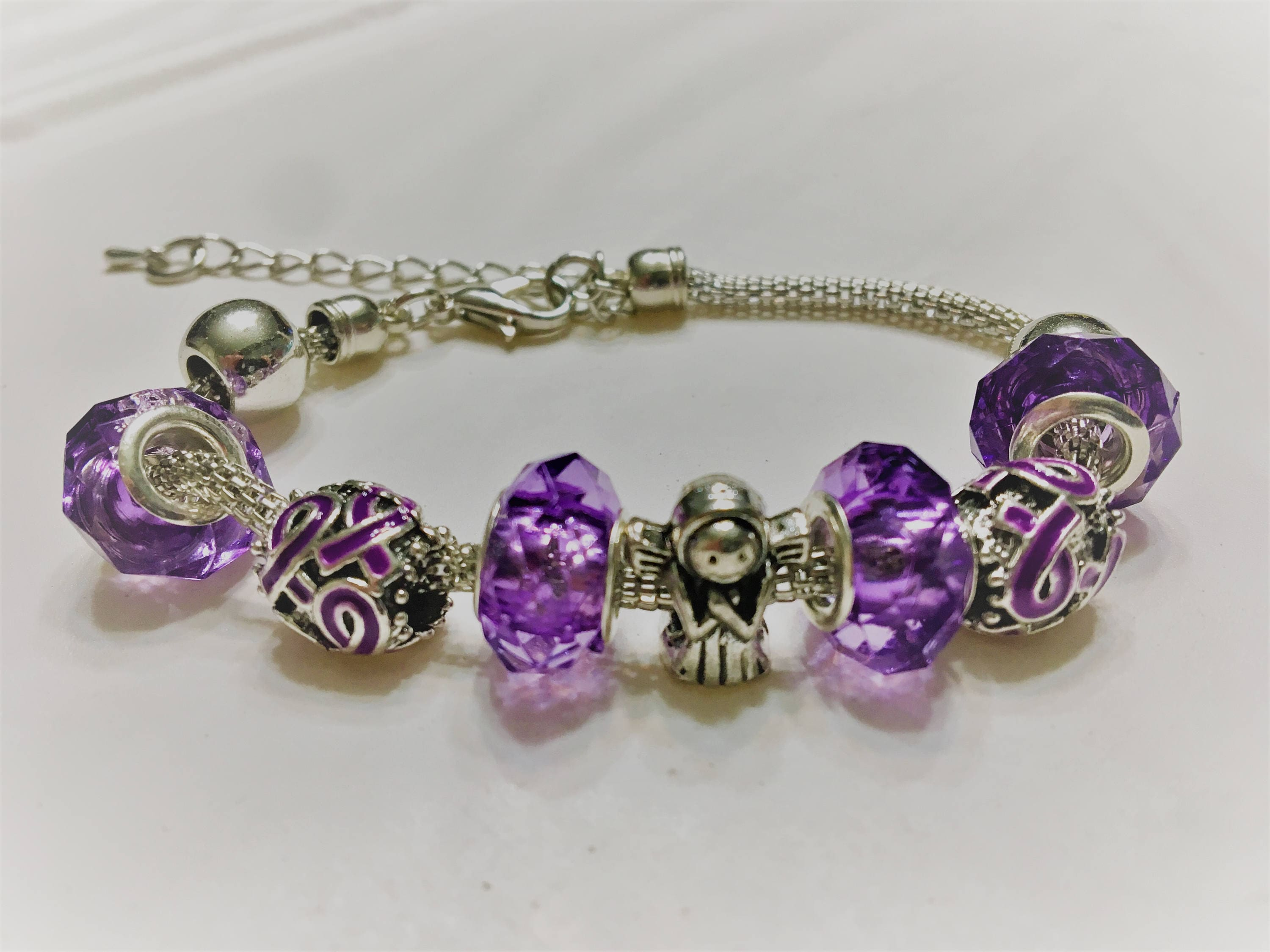 bracelet alzheimer awarenesspurple pin awareness epilepsy migraine ejaidesigns s disease lupus by crohn ribboncrohn