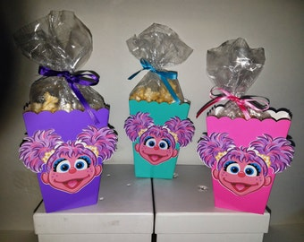 Abby Cadabby Snack Boxes - Set of 10