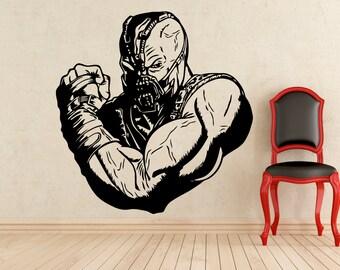 Bane DC Comics Stickers Wall Vinyl Decals Home Interior Murals Art Decoration (214z)