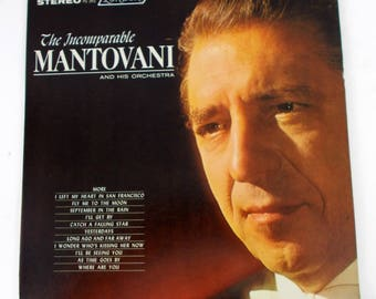 The Incomparable Mantovani and his Orchestra Vinyl LP Record Album PS 392