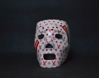 Louis Vuitton Supreme Ski Mask Hockey Mask