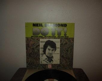 Neil Diamond - Do It!  - Original Lp in VG+ Condition Vinyl Record