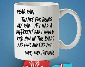 Fathers Day Mug | Mug for Dad | Gift For Fathers Day | Fathers Day Gift From Son | Birthday Gift for Dad From Daughter | Funny Gift For Dad