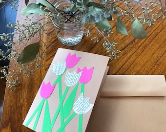 Blooming Tulips: Flowers / All occasions / just because / spring / summer / handmade