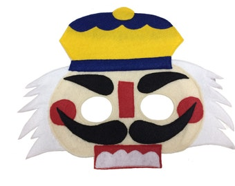 Felt NUTCRACKER Costume Mask for Kids