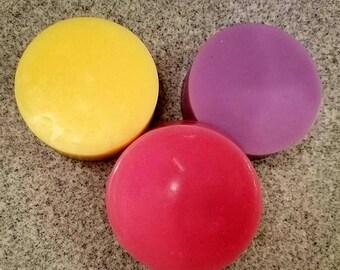 Basic Circle And Oval Soap, handmade, gift idea, goats milk soap, goats milk, unisex, oval soap,circle soap, Basic Circle soap