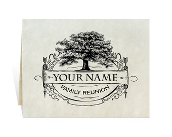 Family reunion invitation with enough space for schedule, event details, rsvp and hotel info, you print black and white printable card art.