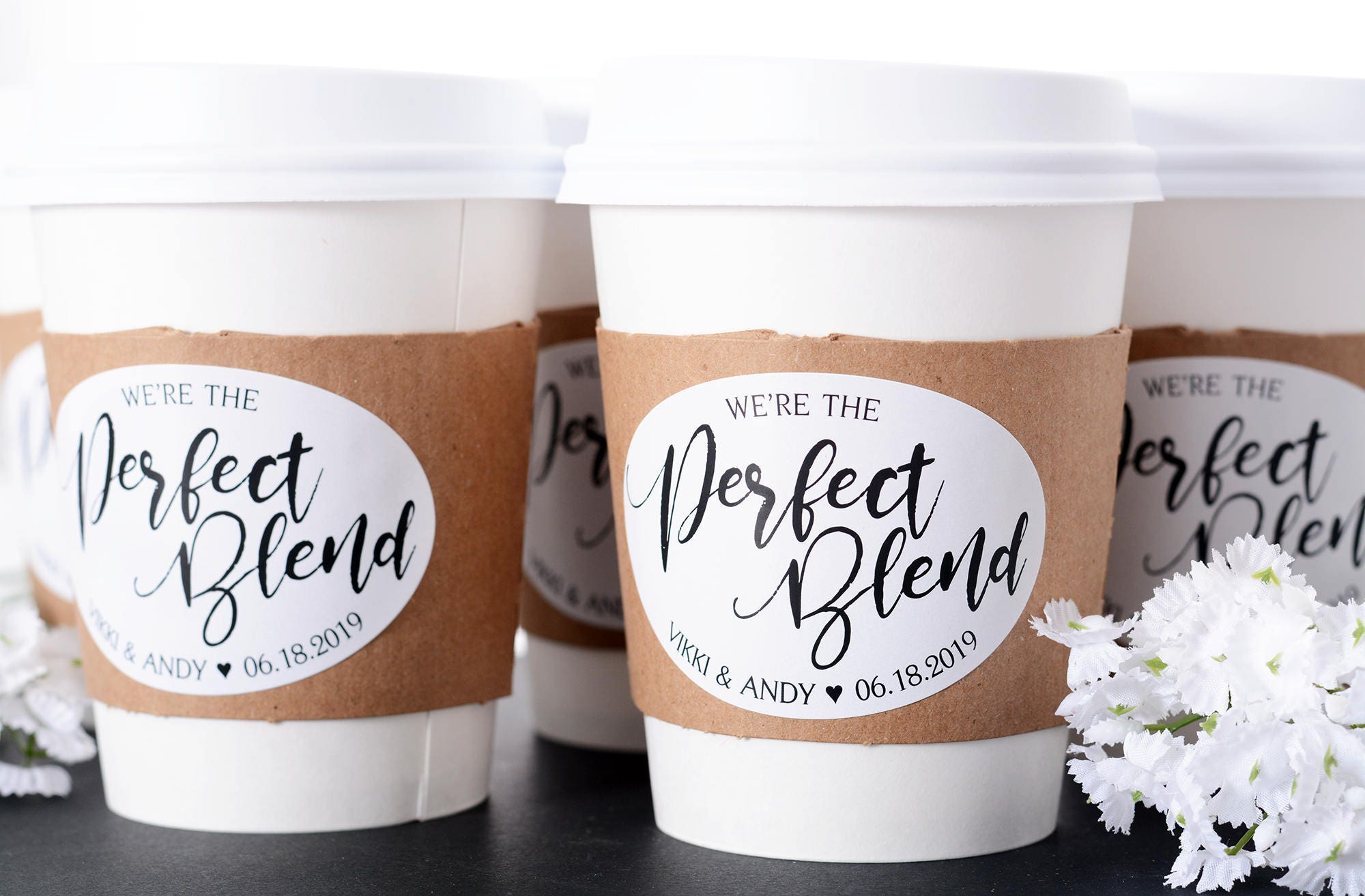 wedding coffee cups wedding coffee bar hot chocolate