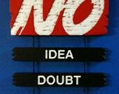 No: Idea, Doubt, Wonder s...