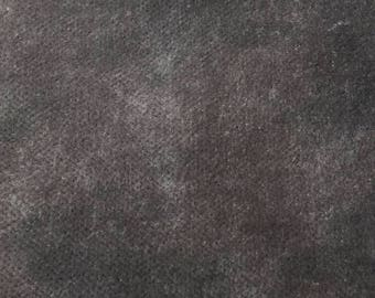 20.5x11.5 Da Vinci's Charcoal velvet by From the Cauldron