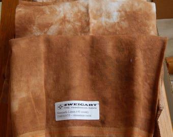 40 ct. Cinnamon Twist Silkweaver Linen (1/8th yard pricing)