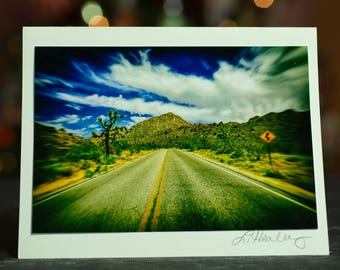 Joshua Tree Journey Photo Greeting Card