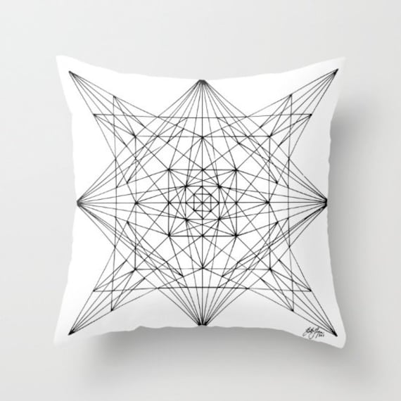 Zentangle - All About The Lines Pillow Case