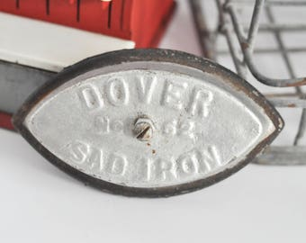 Dover Sad Iron, No. 62, No Handle