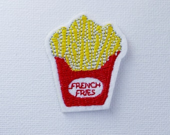French Fries patch Iron On Patch