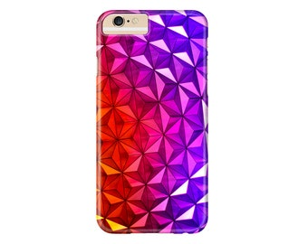 Multicolor Geodome Phone Case | iPhone X, iPhone 8, iPhone 8 Plus, iPhone 7, iPhone 7 Plus, iPhone 6 Plus, iPhone 6, iPhone 5, iPod Touch
