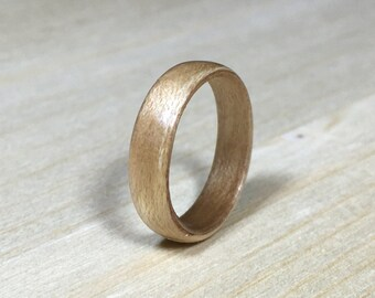 Wood Ring - Size US 4 - Maple