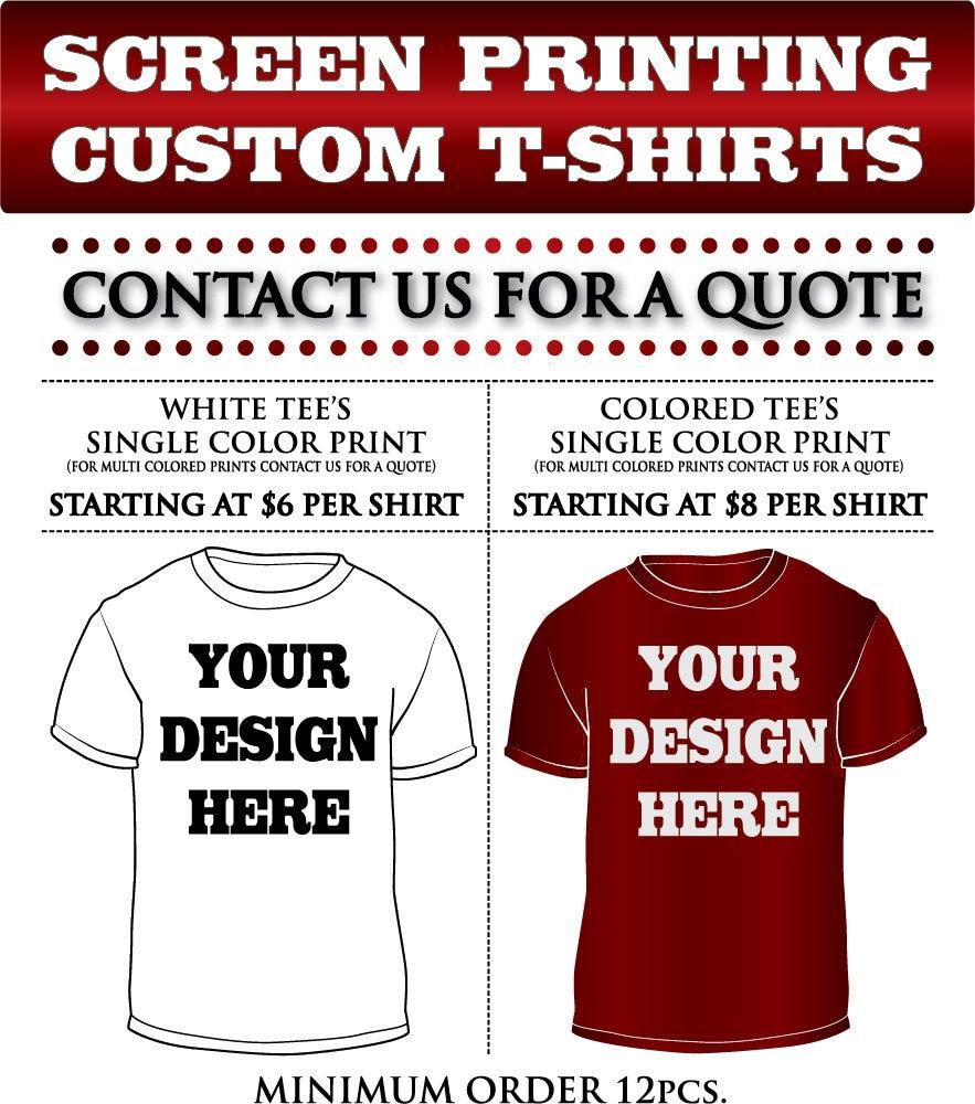 Cheap Custom Printed T Shirts No Minimum - DREAMWORKS
