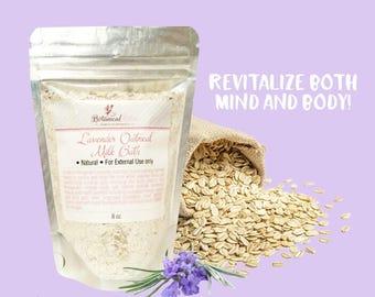 Lavender Oatmeal Milk Bath