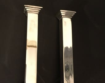 Mid-century Candle Holders