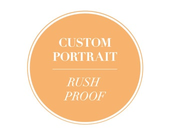 Rush Your Proof Add On - Rush processing for custom portraits