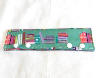 Books DPN holder, Needle holder, Double Pointed Needle Holder, Needle Cozy, Circular Needle holder