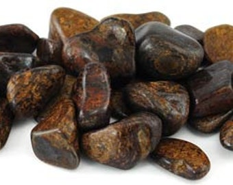 High quality tumbled axinite.  All pieces hand picked!