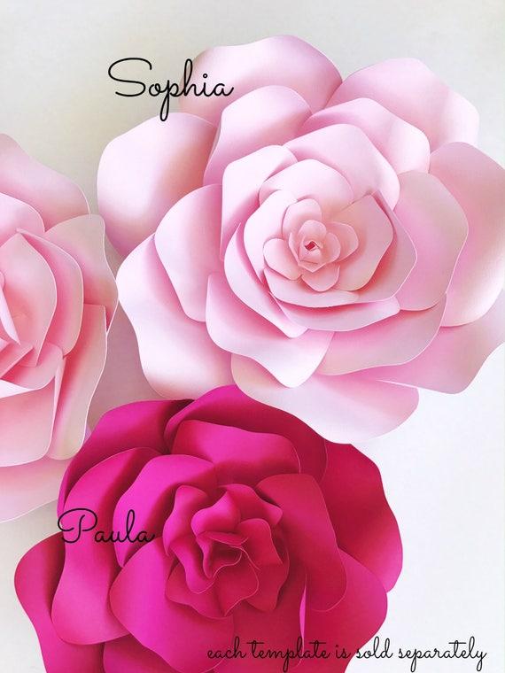 diy paper flower templates - Romeo.landinez.co