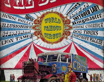 Fun Of The Big Top  Vintage Style Fairground Circus Metal Sign Home Decor Mancave Lovely His/Hers Gift Choose Your Own Size
