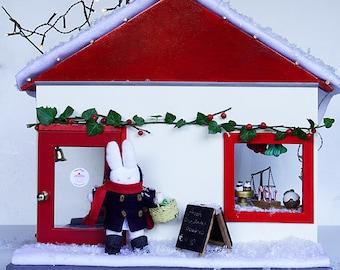 Wooden miniature Bakery