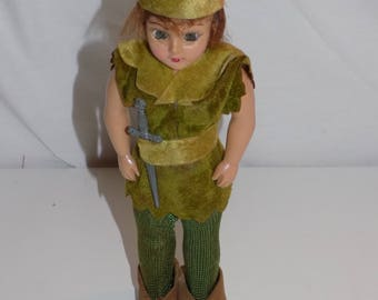 Vintage Duchess Peter Pan Doll Walt Disney
