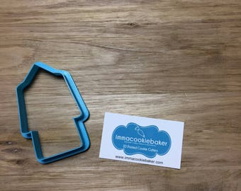 Graduation Cap and Gown Cookie Cutter