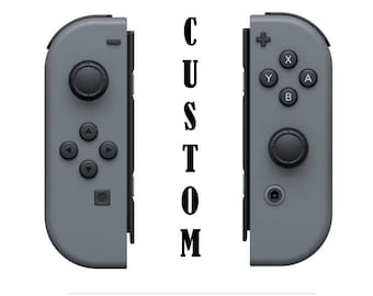 Custom Nintendo Switch Joy Cons
