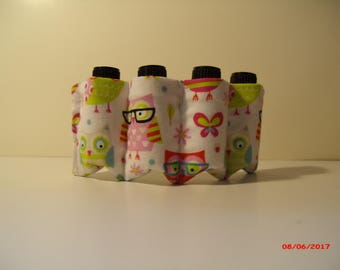 Nerdy Owl Essential Oil and Nail Polish bottle holder