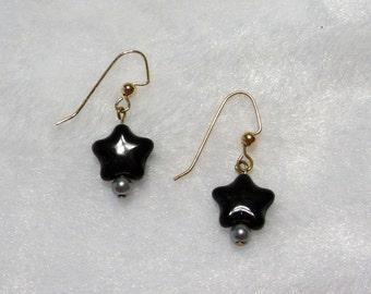 Short Star Earrings  E-111