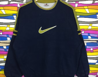 Rare!! Vintage NIKE Big Logo Sweatshirt Xlarge Size