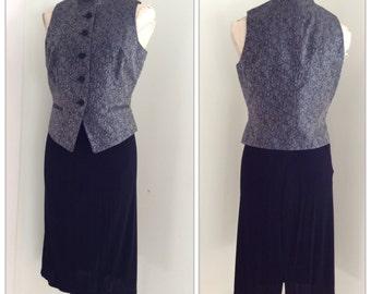 Vintage Ann Taylor Tuxedo Vest