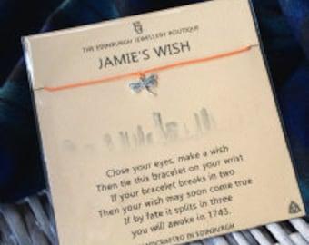 Outlander Inspired Wish Bracelet - Jamie's Wish