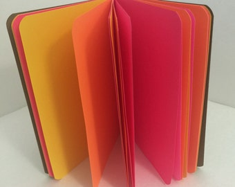 Sunset Sonata 24lb Paper Traveler's Notebook Insert- ALL Sizes, Including B6, B6 Slim, Personal, & A6! Choose Your Cover Color!