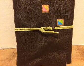 Painted Desert||Long Stitch Hand-Bound Leather Journal