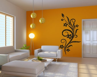 Vinyl Wall Decal Sticker Hawaiian Vine OSAA297m