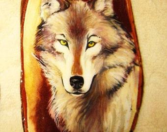 Wood Paintings, Original, Animals, Wood, Souvenirs, Wall Decoration.