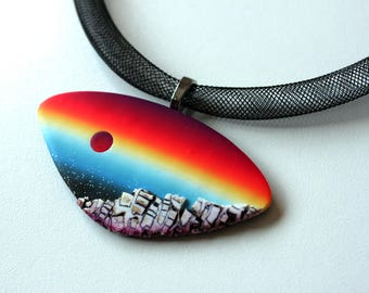 by art polymer create meet a wrap deviantart wire clay on pendant